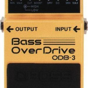 Boss ODB-3 Bass Overdrive Pedal