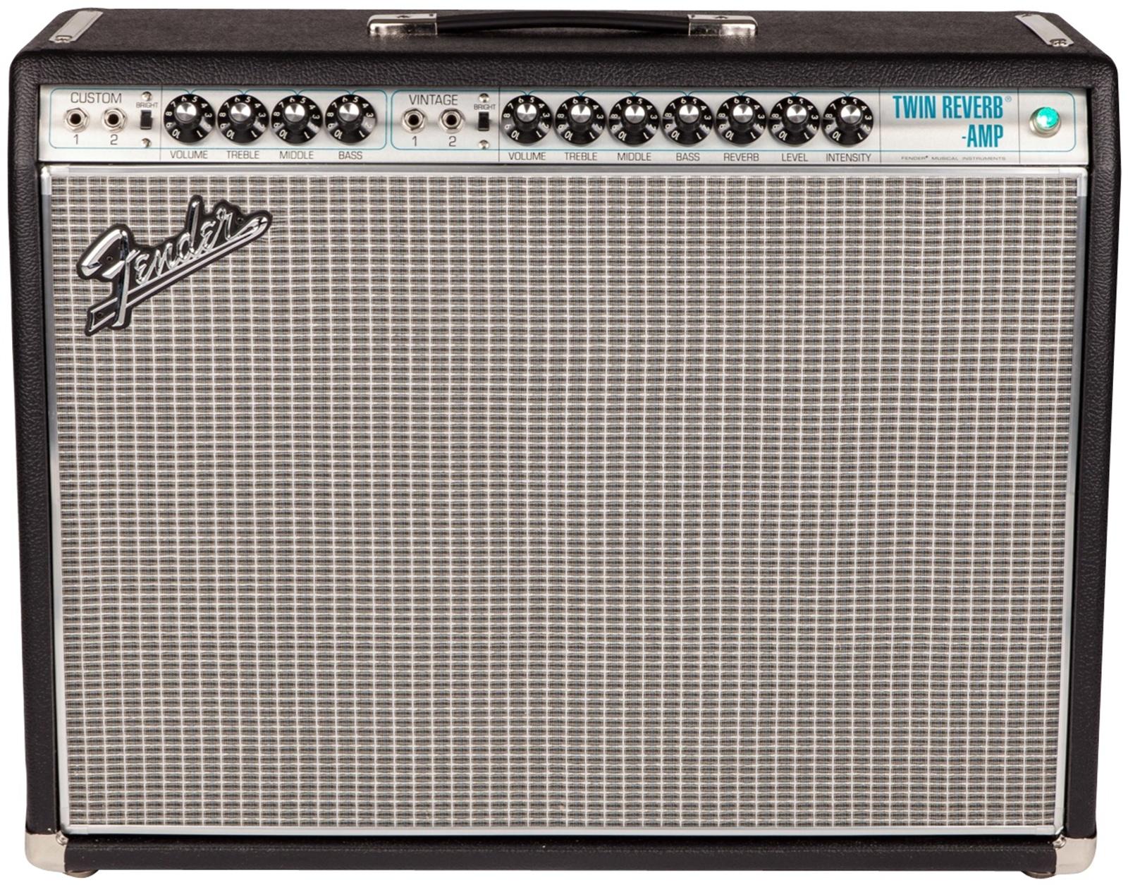 "Fender® '68 Custom Twin Reverb Combo Amp, 2x12"" 85-Watts"