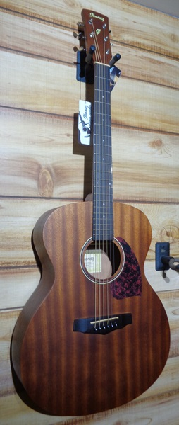Ibanez PC12MH Open Pore Mahogany Grand Concert Acoustic Guitar Natural