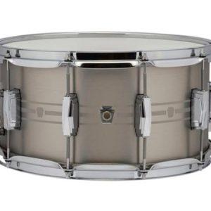 """Ludwig Heirloom Stainless Steel Snare Drum 7"""" x 14"""""""